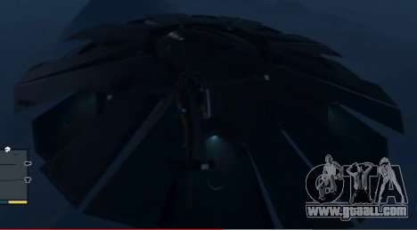 GTA 5 Flying saucer (UFO) above Fort Zancudo