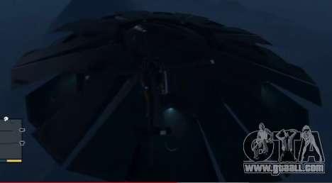GTA 5 Fliegende Untertasse (UFO) oben Fort Zancudo