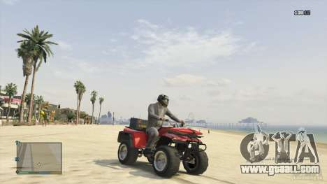 Nagasaki Blazer Lifeguard, ATV