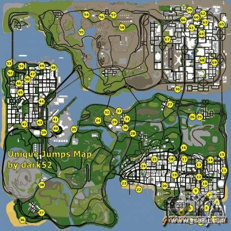 Как сделать карту в гта сан андреас