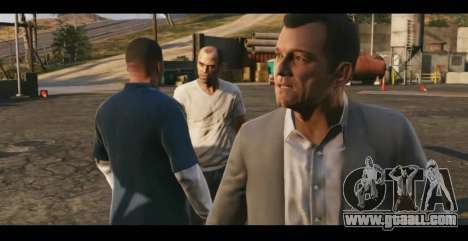 Parsing the second trailer of GTA V