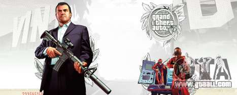 Background art GTA 5 from Gameinformer