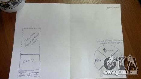Sketching interface and HUD of GTA 5