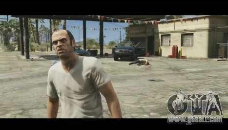 Parsing second trailer of GTA V