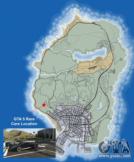 Where to find rare cars in GTA 5