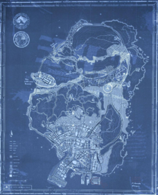 GTA 5: secrets of special edition map