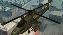 Code for the helicopter Hunter from GTA San Andreas
