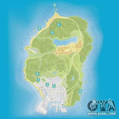 ap of Epsilon tracts in Grand Theft Auto 5