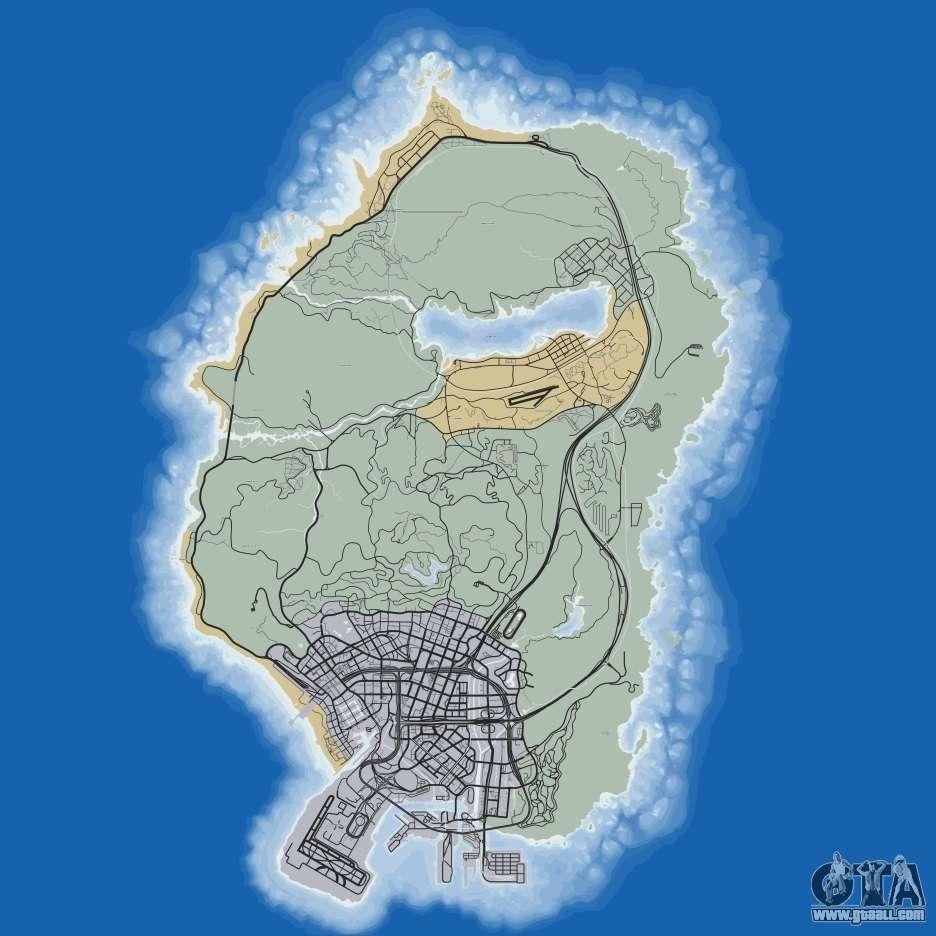 gta 5 map download all gta 5 maps Map Gta 5 road map of gta 5 map gta 5