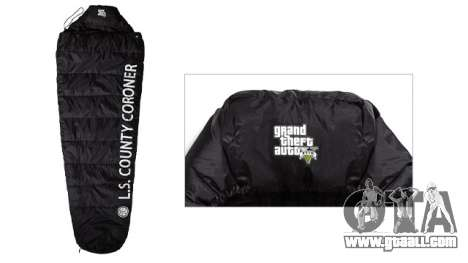 GTA 5 Body Bag Sleeping Bag