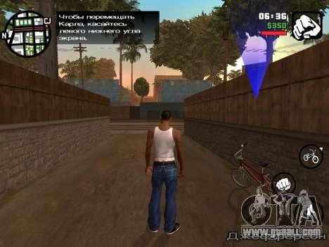 GTA San Andreas iOS-gameplay