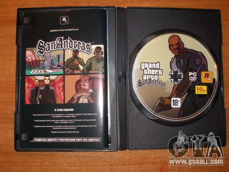 GTA San Andreas localization in German for 4 years