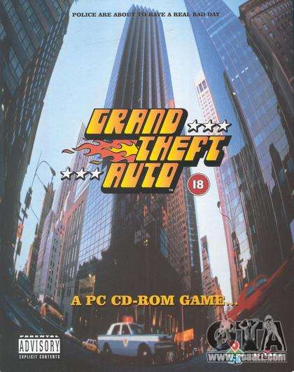 15 years since the release of GTA 1 PC in Japan