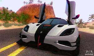 Koenigsegg One 2014 for GTA San Andreas