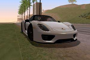 Porsche 918 2013 for GTA San Andreas