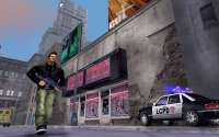 The game character of GTA 3 Liberty City