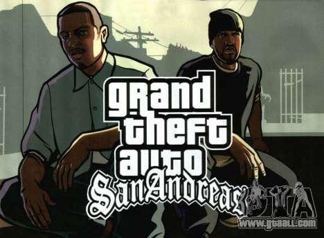 Releases GTA SA: the PS2 version in North America