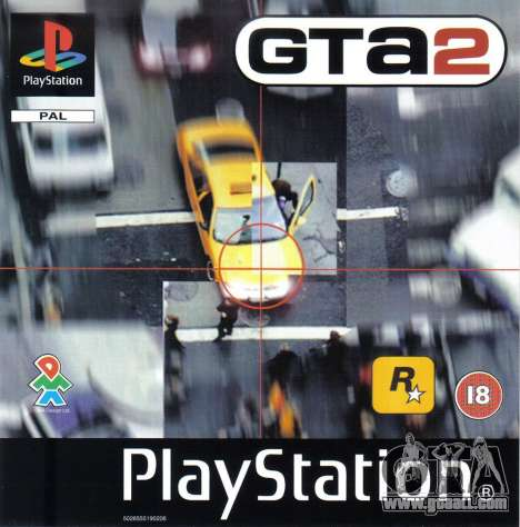 Releases of the 90's: GTA 2 for PS in Europe