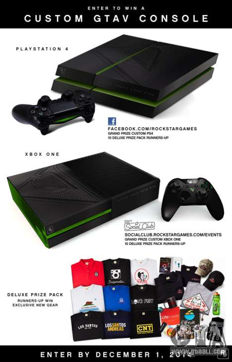 Drawing of the PlayStation 4 and Xbox One