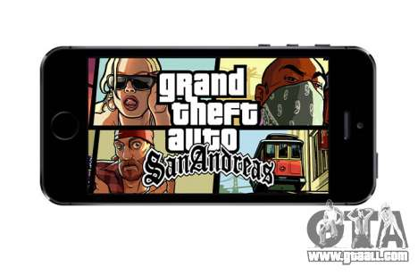 GTA SA for iOS: anniversary release