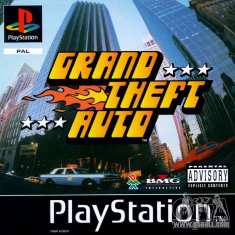 Exit GTA 1 PS in Europe: shattered stereotypes