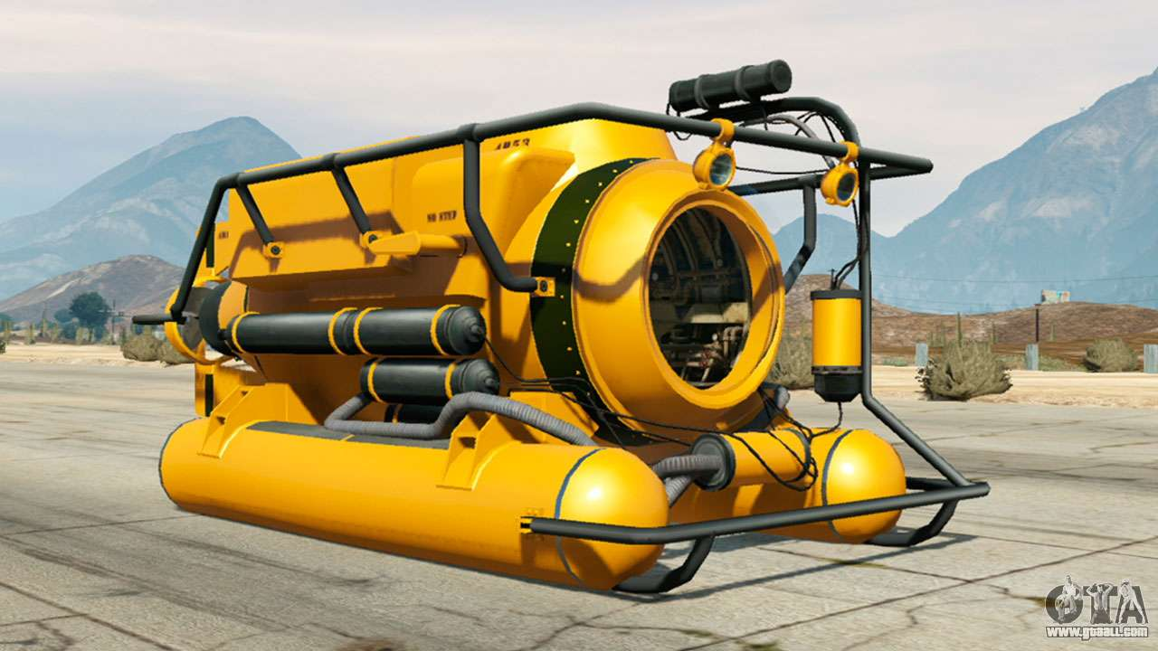 Submersible from GTA 5