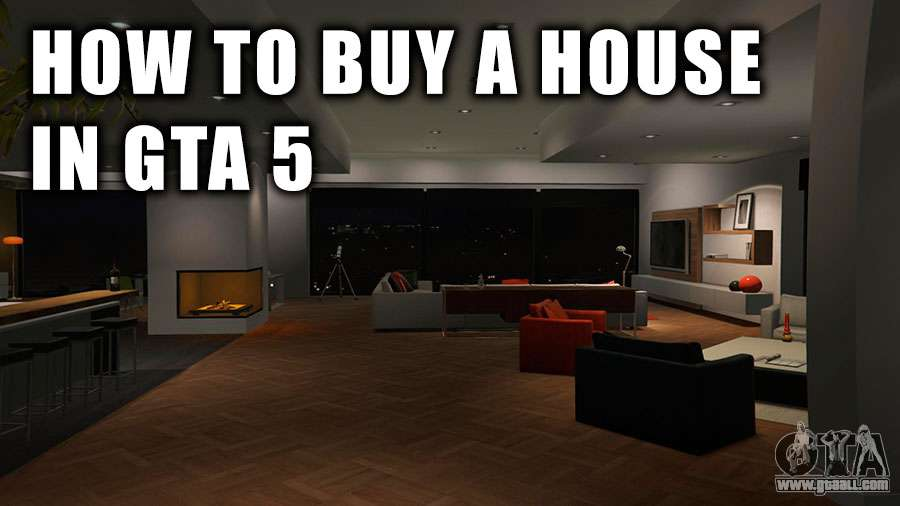 how to buy a house in gta 5 and in gta online