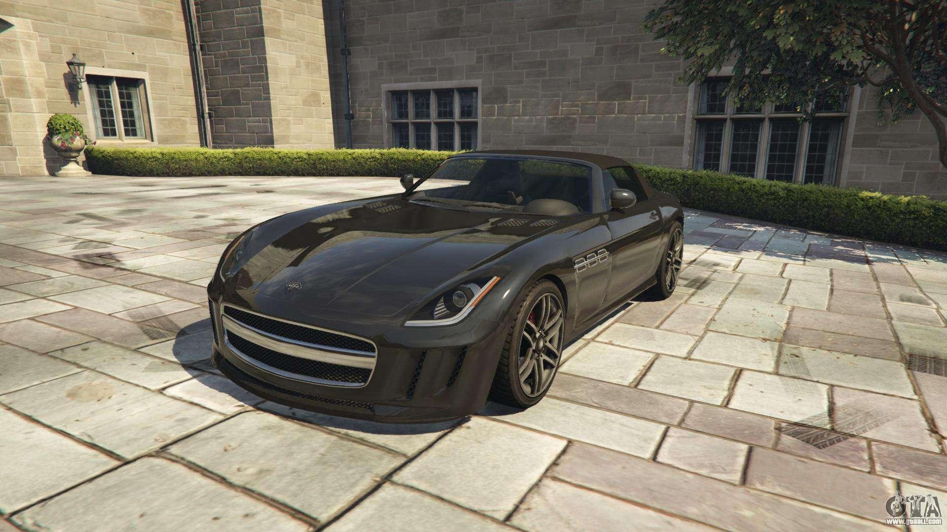 Benefactor Surano GTA 5 - front view