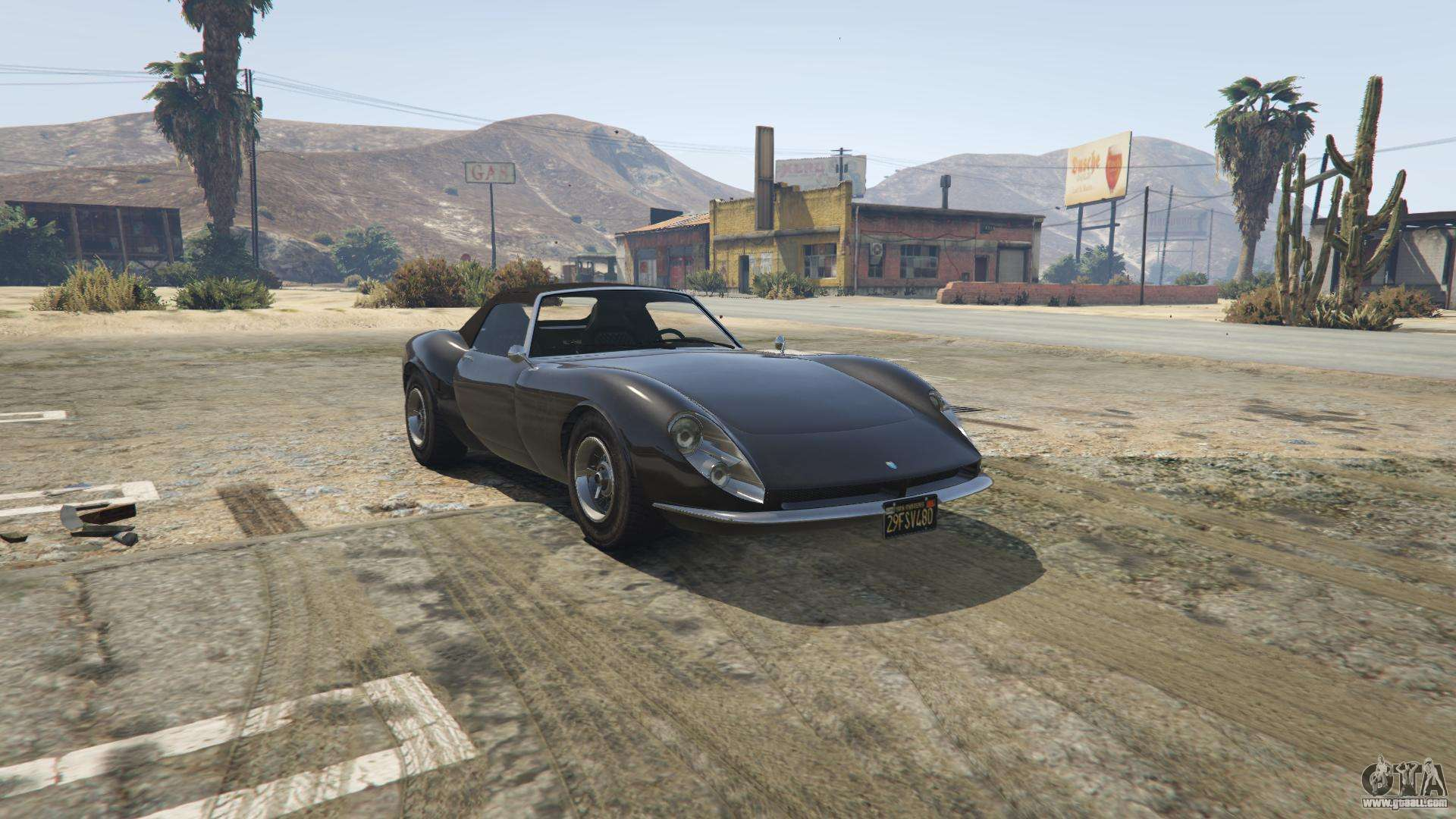 Grotti Stinger from GTA 5 - front view
