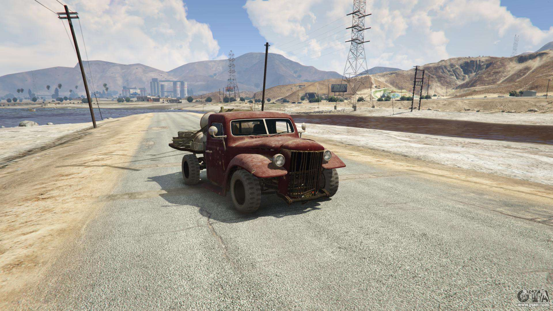 Rat-Loader in GTA 5 - front view