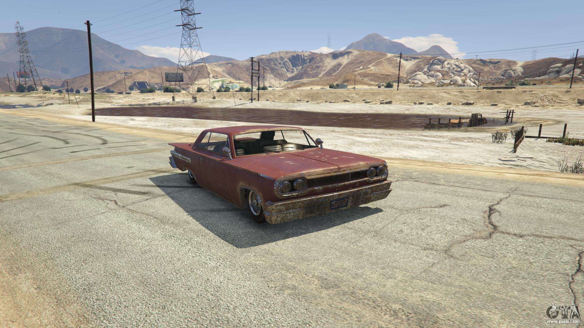 Voodoo from GTA 5 - front view