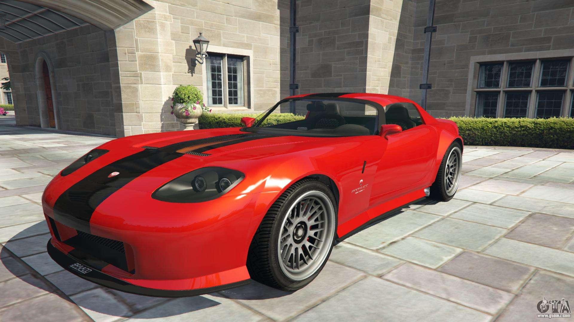 Bravado Banshee from GTA 5 - front view