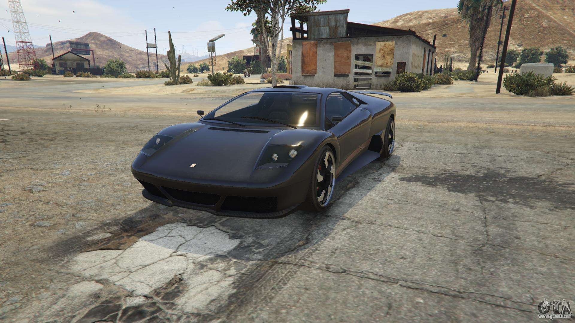 Pegassi Infernus from GTA 5 - front view