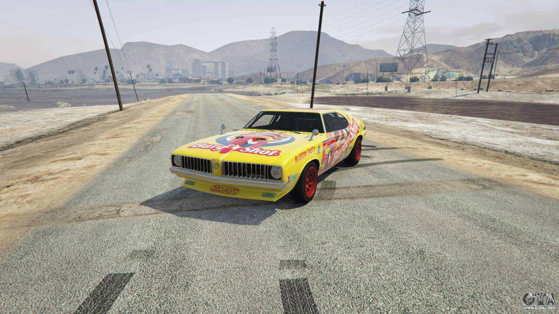 Burger Shot Stallion from GTA 5 - front view