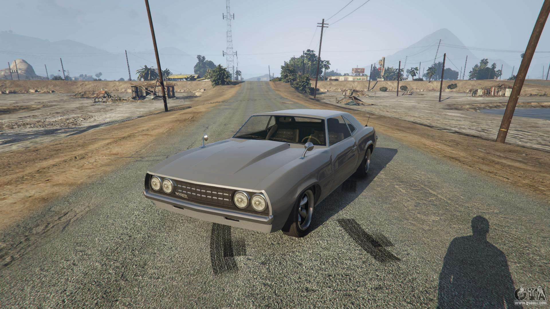 Vigero from GTA 5 - front view