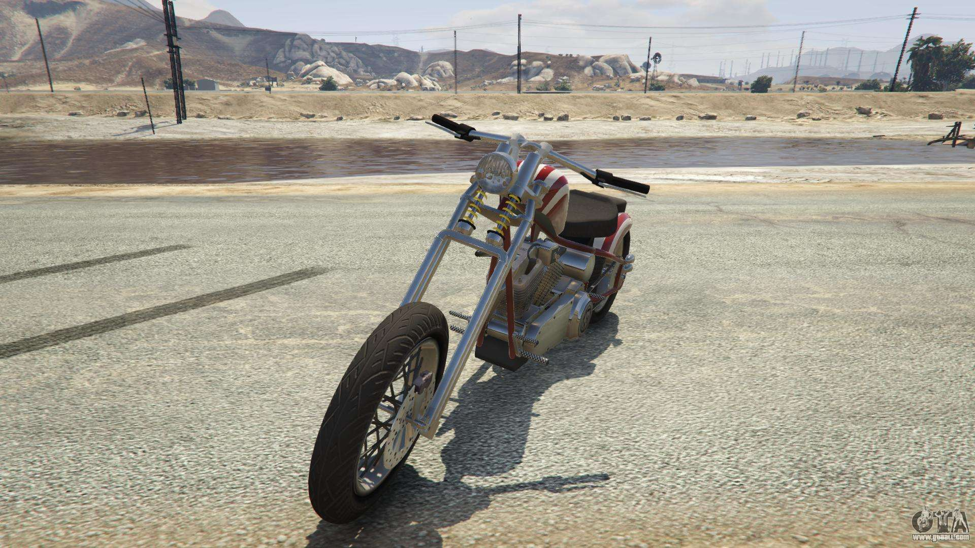 Liberty City Cycles Hexer from GTA 5