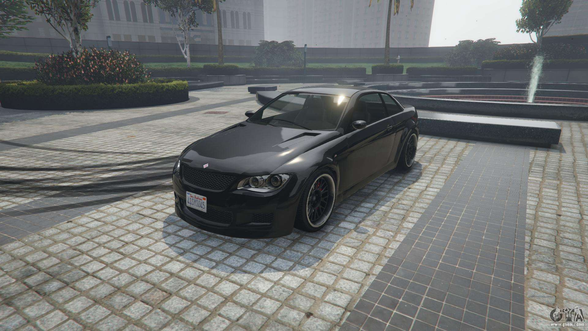 Ubermacht Sentinel XS from GTA 5 - front view