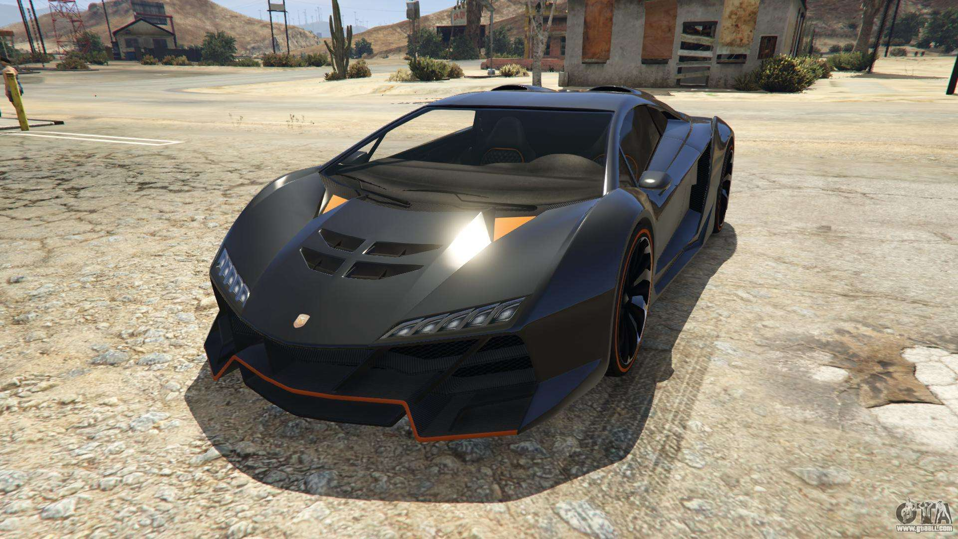 Pegassi Zentorno of GTA 5 - front view