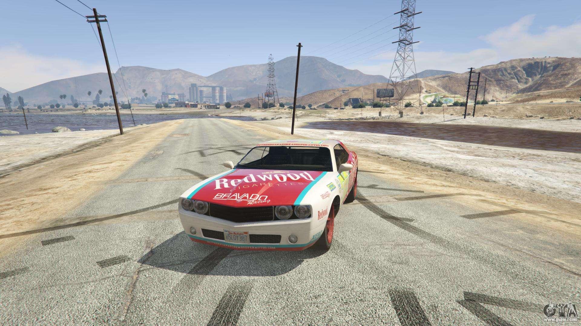 Redwood Gauntlet GTA 5 - front view