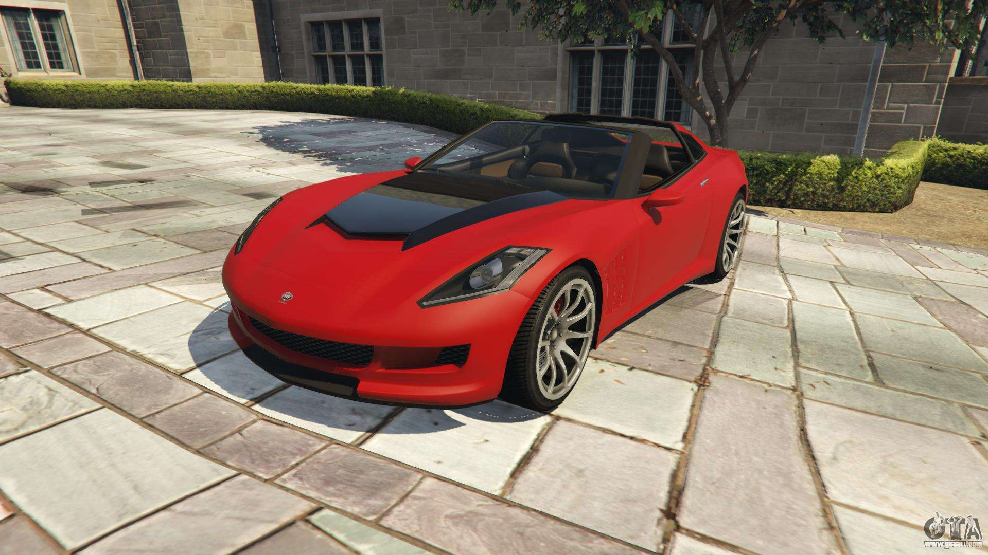 Invetero Coquette from GTA 5 - front view
