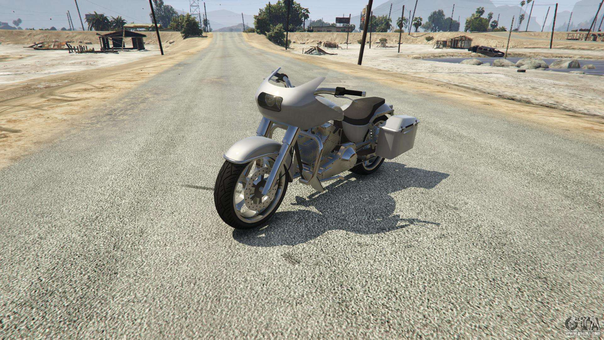Western Motorcycle Company Bagger from GTA 5