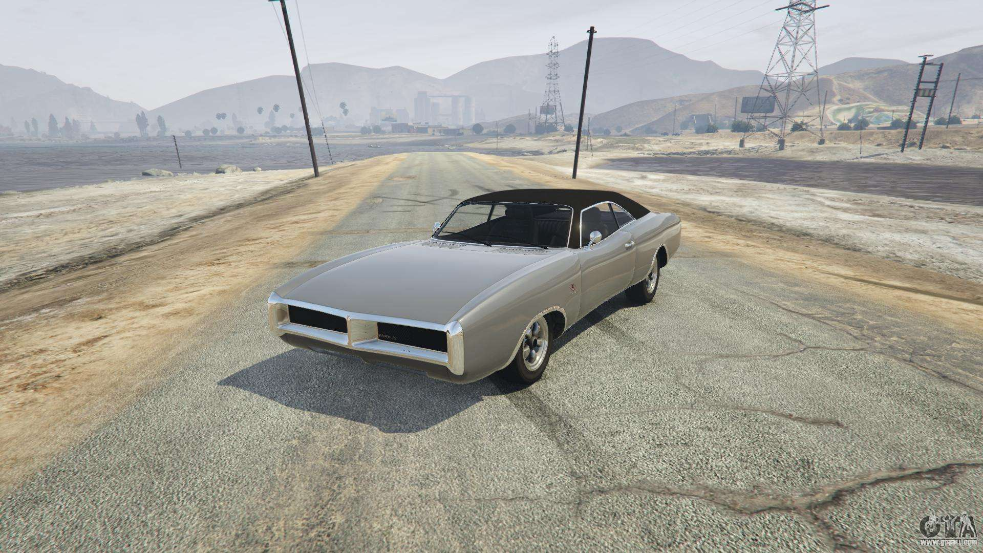 Imponte Dukes of GTA 5 - front view