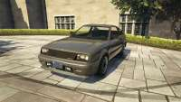 Dinka Blista Compact from GTA 5 - front view