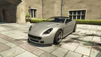 Dewbauchee Rapid GT Convertible from GTA 5 - front view