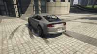 Dewbauchee Exemplar of GTA 5 - rear view