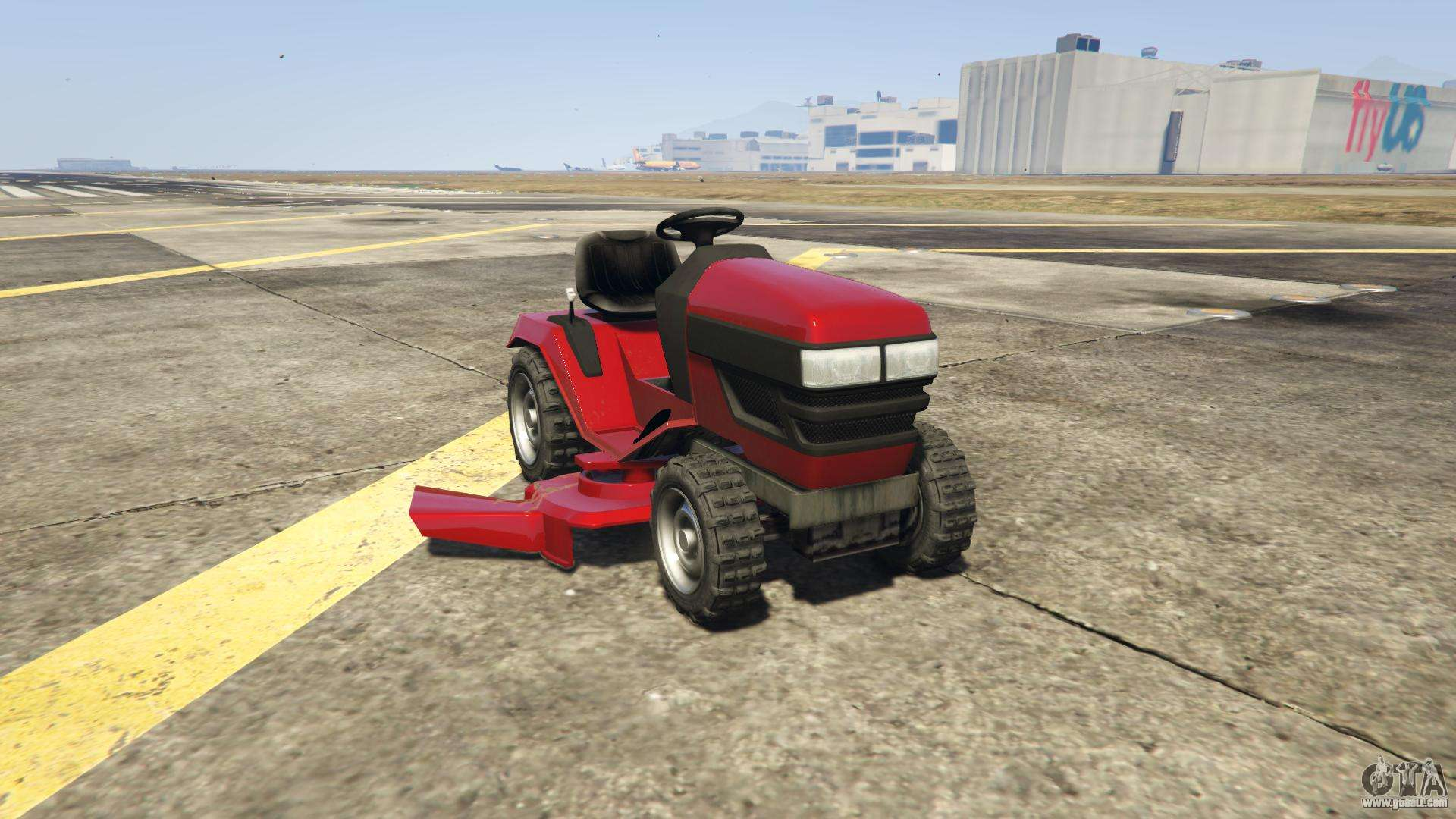 GTA 5 Jacksheepe Mower - front view