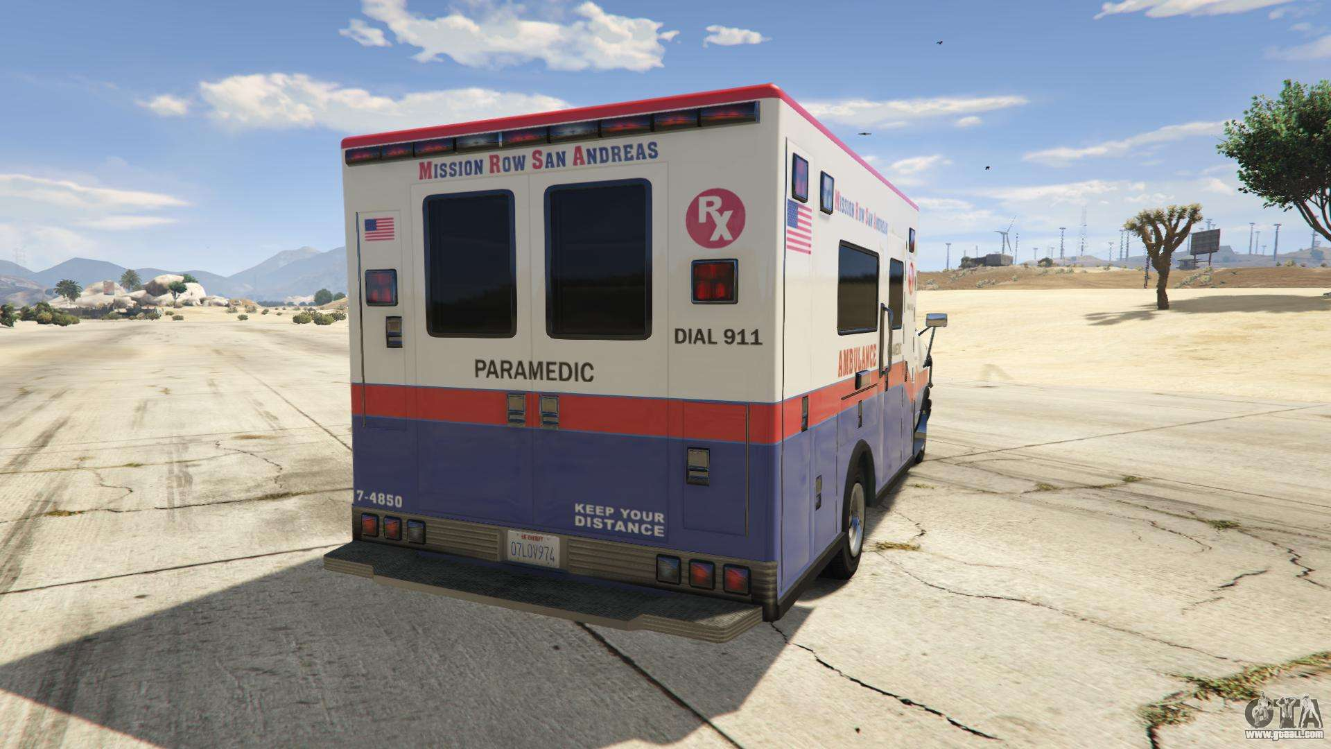 GTA 5 Brute Ambulance  description features and screenshots of