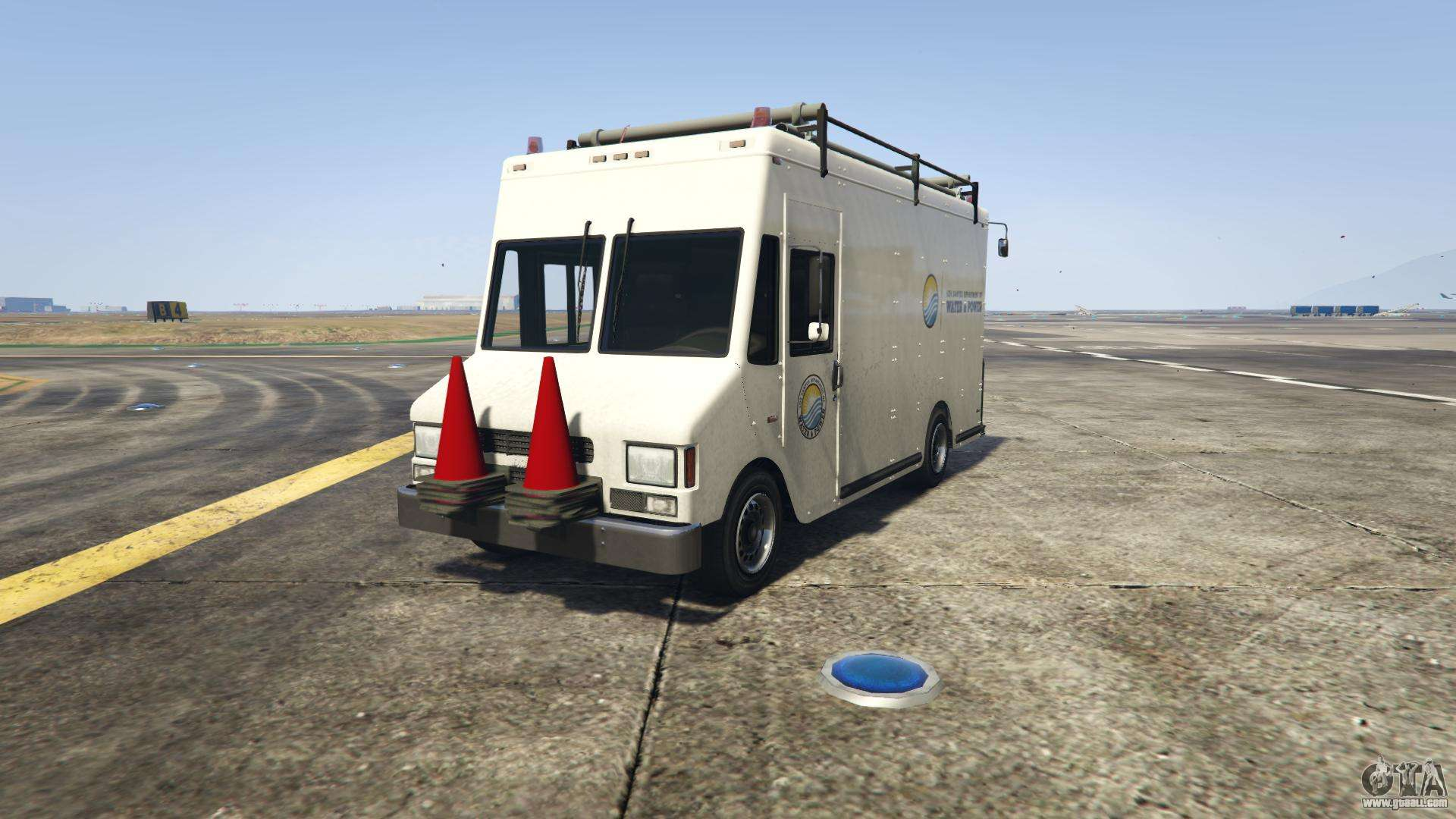 GTA 5 Brute Boxville - front view