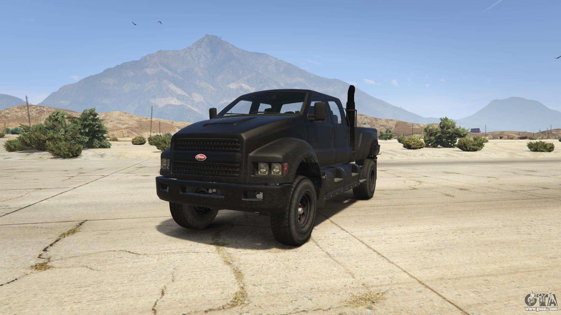GTA 5 Vapid Guardian - front view