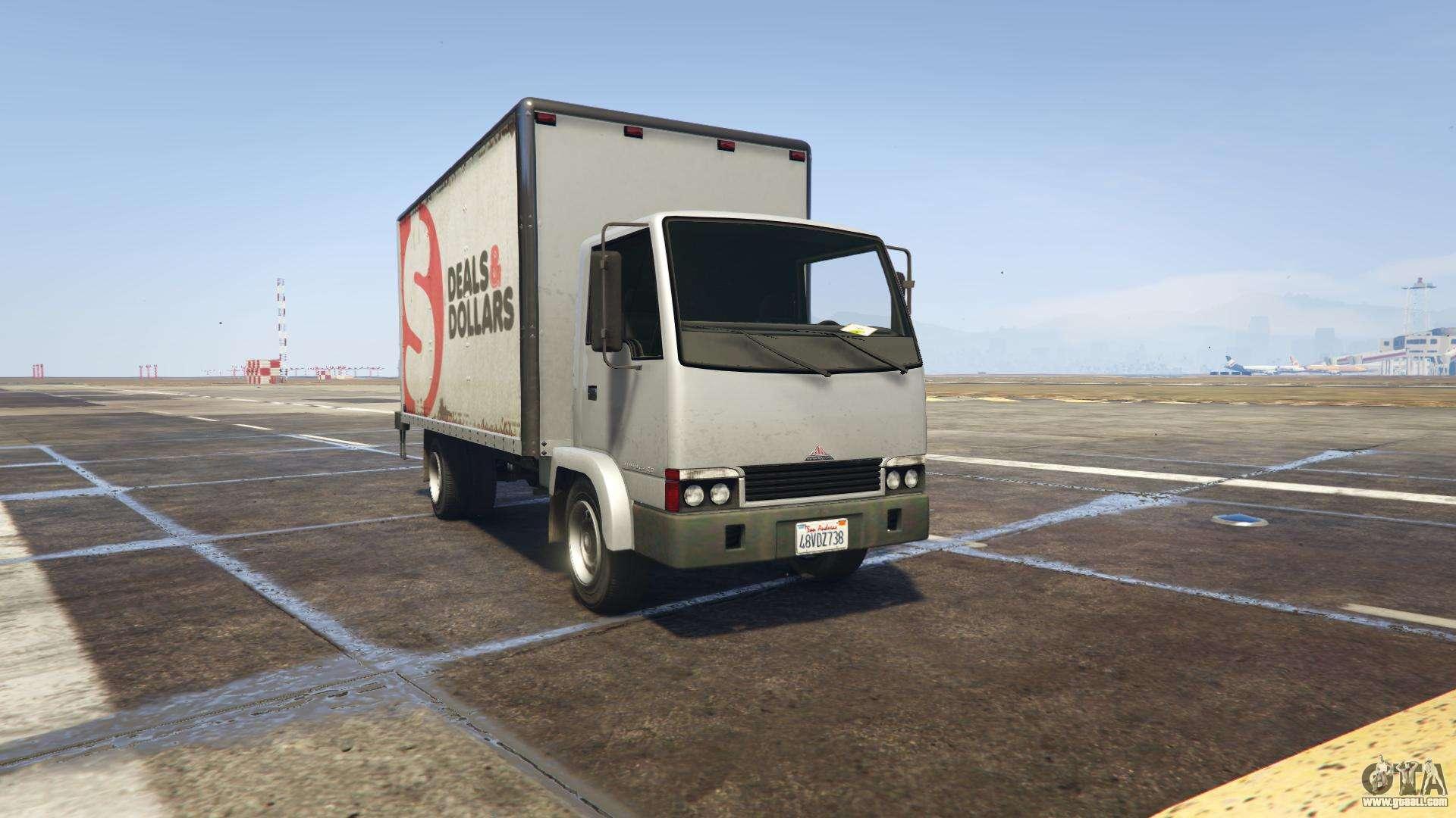 GTA 5 Maibatsu Mule - front view